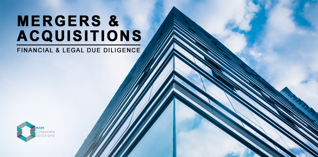 Mergers and acquisitions; A guide by MAM Corporate Solutions.