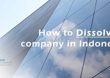 Company dissolution in Indonesia