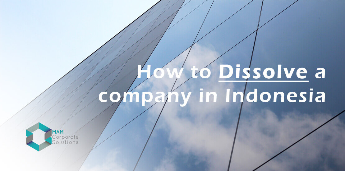 Company dissolution in Indonesia
