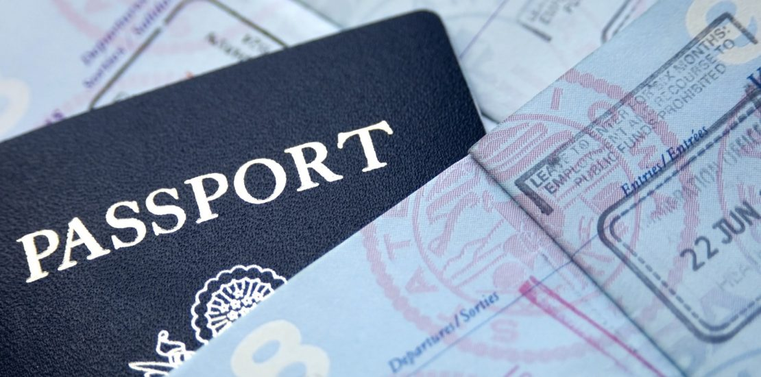 Passport and spouse visa