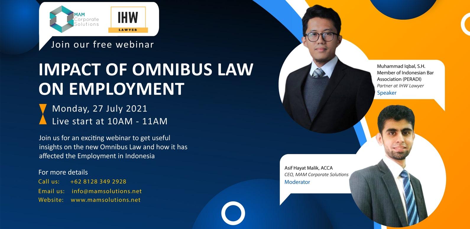 Impact of Omnibus law